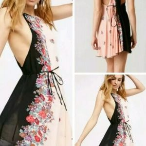 NWT Free People it's a clinch dress.